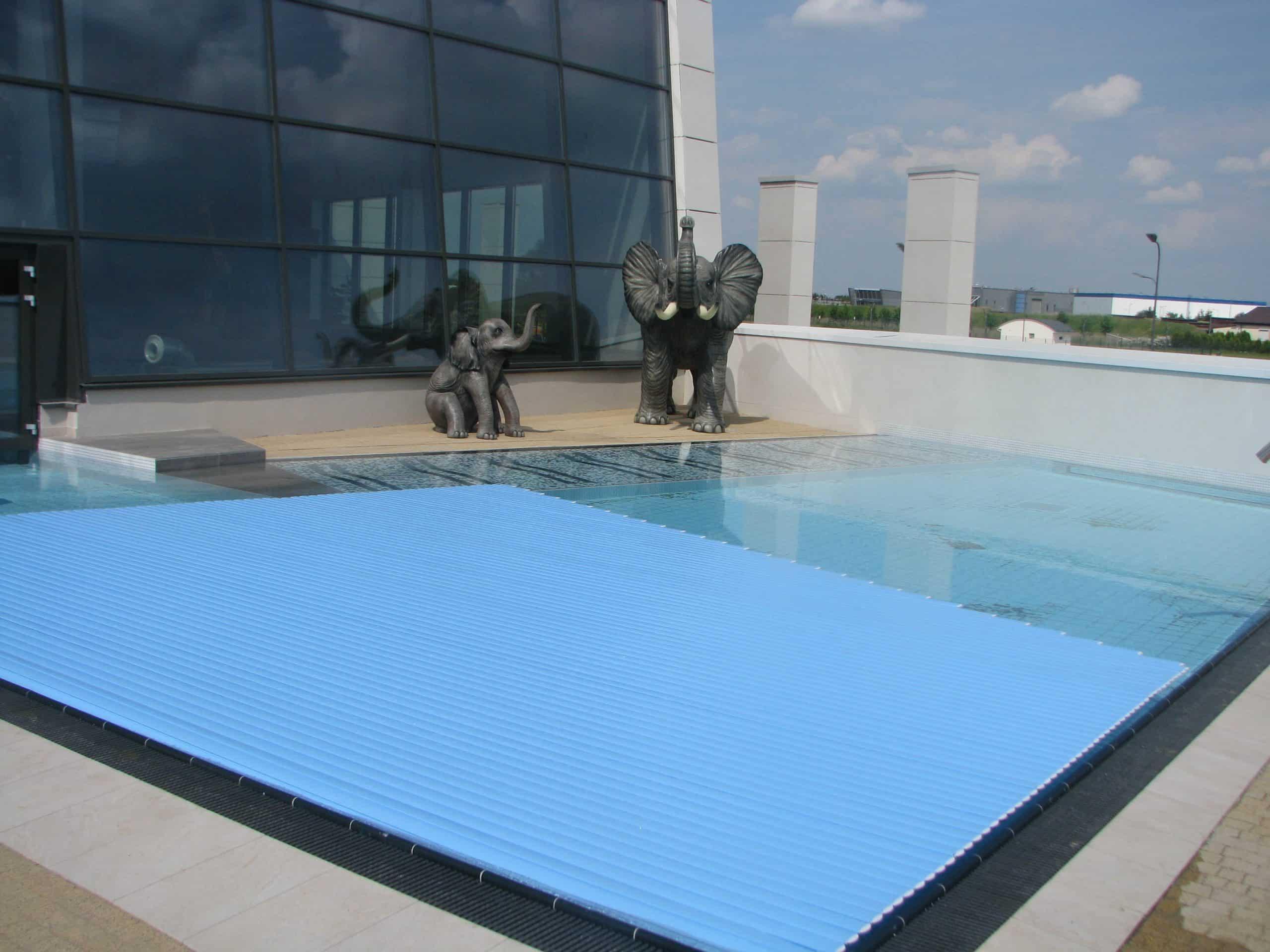 basen, roleta, podwodna, pływająca, montaż, budowa basenu