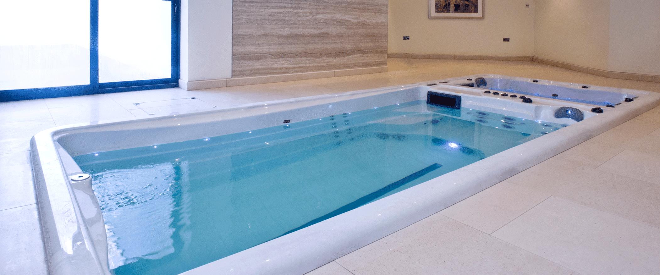 basen swim spa przeciwprad bieznia plywacka